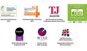 award winning training programmes for career development